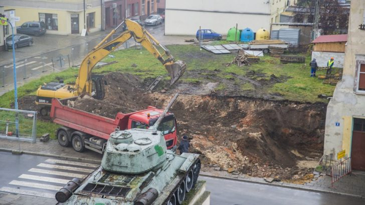 W centrum ruszyła budowa