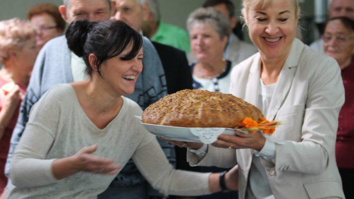 Niedziela z chlebem w centrum miasta