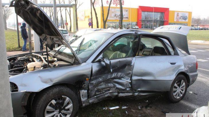 Groźne zderzenie na Ścinawskiej