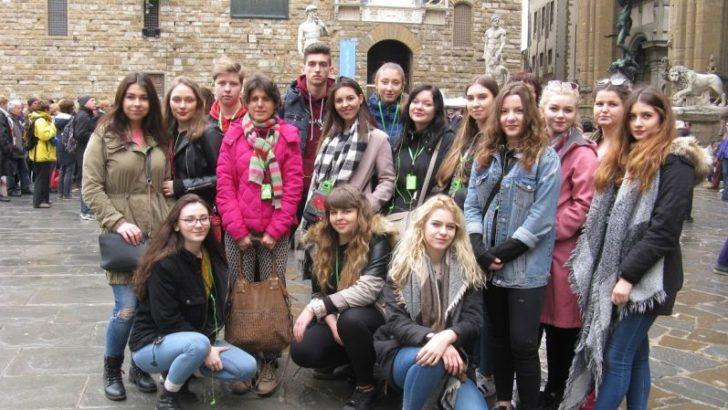Uczniowie pracowali we Włoszech i na Malcie