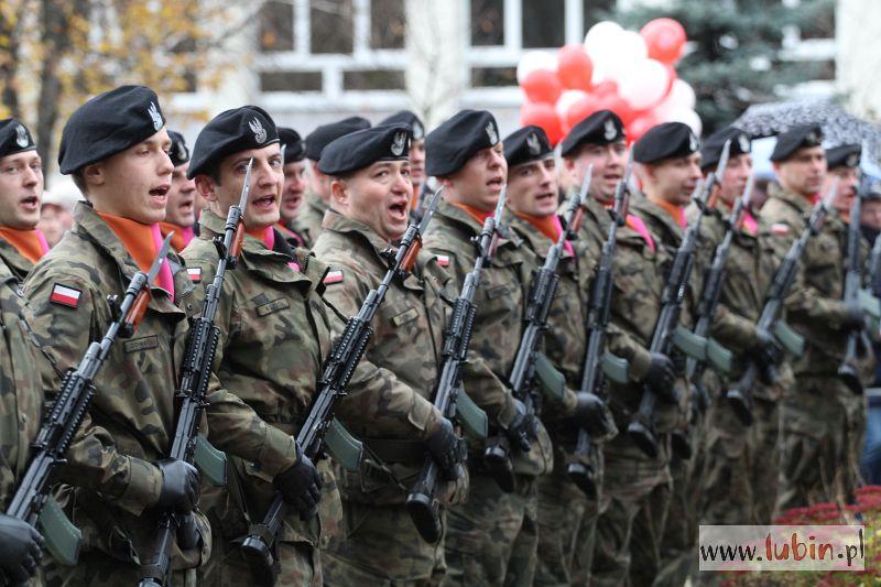 Szkoła wojskowa w Lubinie?