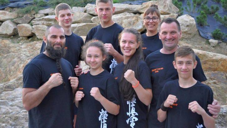 Treningi lubińskiego kyokushin z mistrzem świata