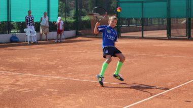 Zmagania najmłodszych tenisistów