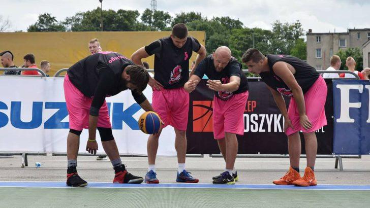 Flamingo Basket Team z dobrym miejscem
