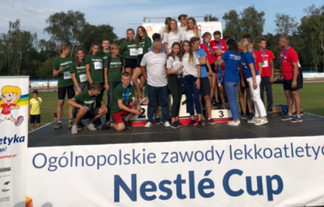 Emilia i Jacek na podium Krajowego Finału LDK