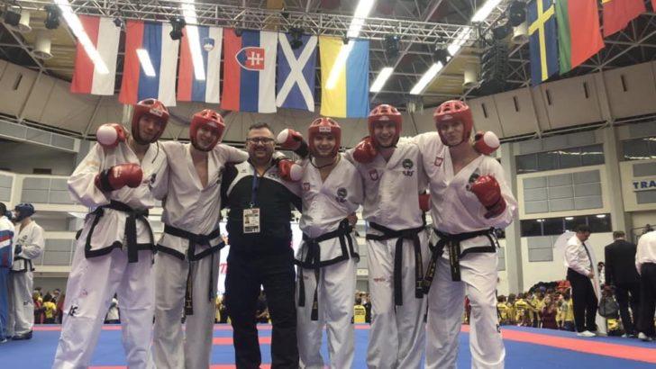 Lubiński taekwondoka z medalem Pucharu Europy
