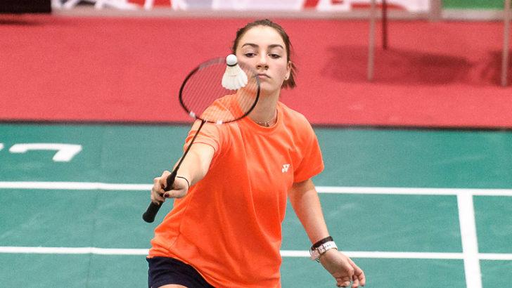 Badminton na start