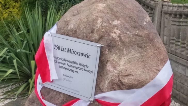 750-lecie wsi Miroszowice