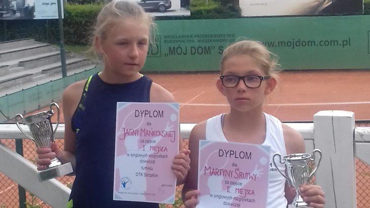 Podwójny tryumf tenisistki z Lubina