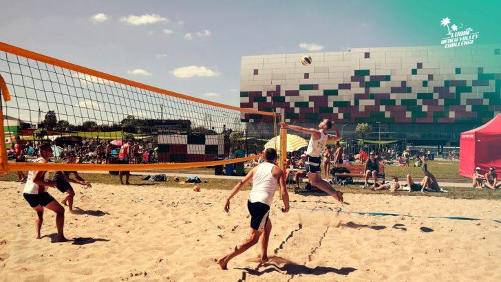 Plażowe rozgrywki Tartanowców
