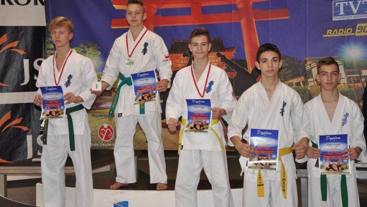 Kolejne medale dla lubińskiego klubu kyokushin