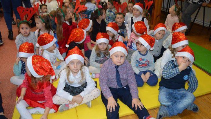 Zimowy przegląd artystyczny przedszkolaków