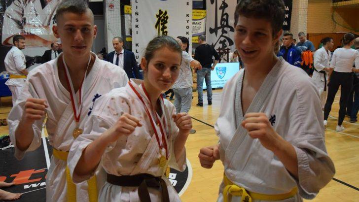 Zawodnik lubińskiego kyokushin z medalem