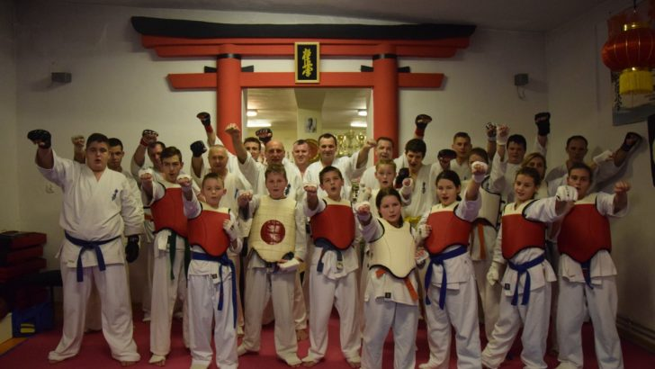 Egzaminy w szkole walki karate kyokushin