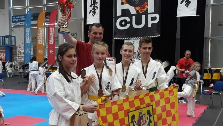 Wojownicy kyokushin ze wspaniałym rezultatem