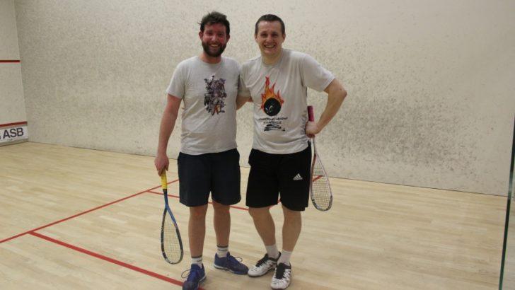 Koniec sezonu rozgrywek squasha