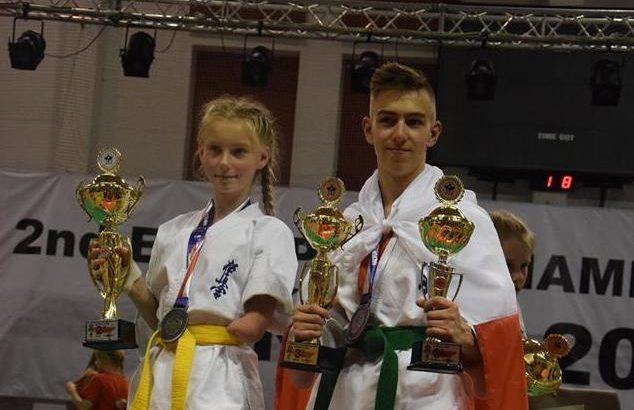 Wojownicy kyokushin medalistami Mistrzostw Europy