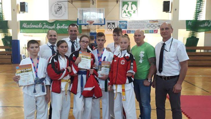 Karatecy kyokushin we Wrocławiu