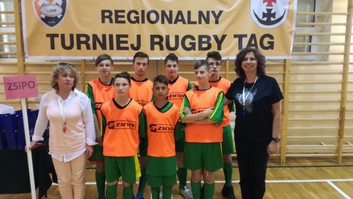 Rugby TAG w placówce oświatowej w Lubinie