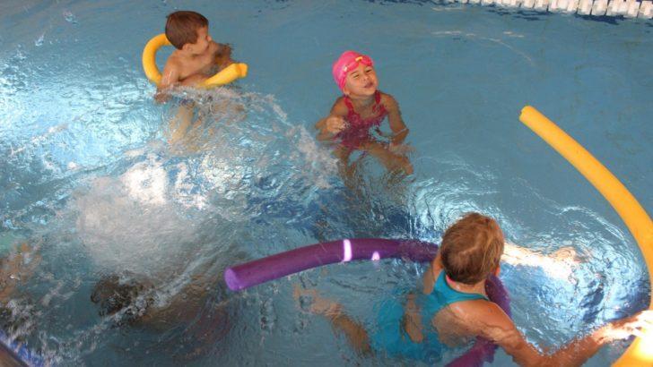 Nauka i zabawa na basenie