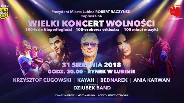 Wielki Koncert Wolności w rynku