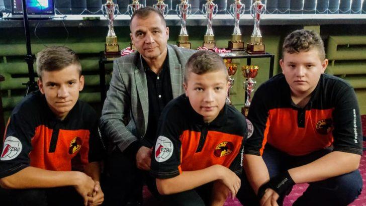 Znakomity start młodych zawodników Baribal Lubin