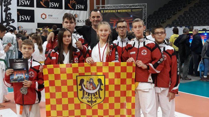 Pięć medali w Turnieju Kumite Kyokushin