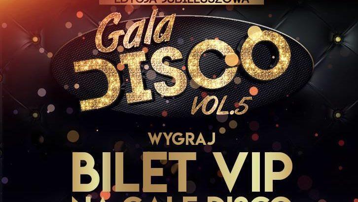 Gala Disco znowu w Lubinie. Można wygrać bilety