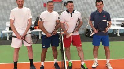 Wyrównane tenisowe Grand Prix