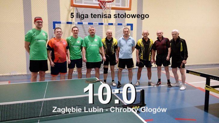 Tenisiści stołowi rozgromili rywali z Głogowa