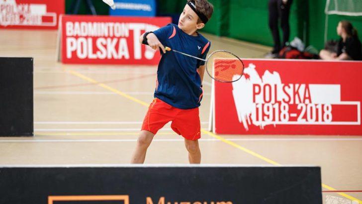 Młodzi badmintoniści rywalizują w Lubinie