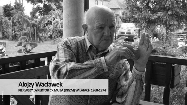Zmarł Alojzy Wacławek, pierwszy dyrektor Muzy