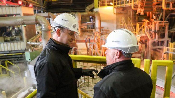 Prezydent Duda otworzył nową inwestycję KGHM