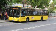 Pierwszy autobus elektryczny i miasto wolne od spalin