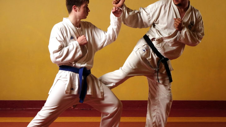 Zostań wojownikiem karate goju ryu