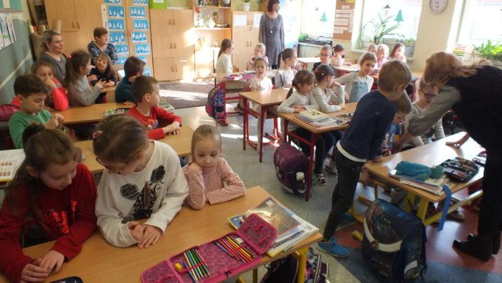 Szkoła wita przedszkolaków