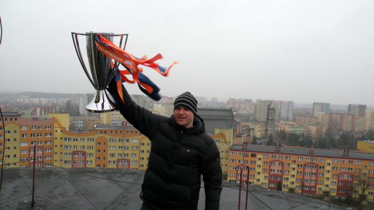 Z Pucharem na Dachu Lubina!