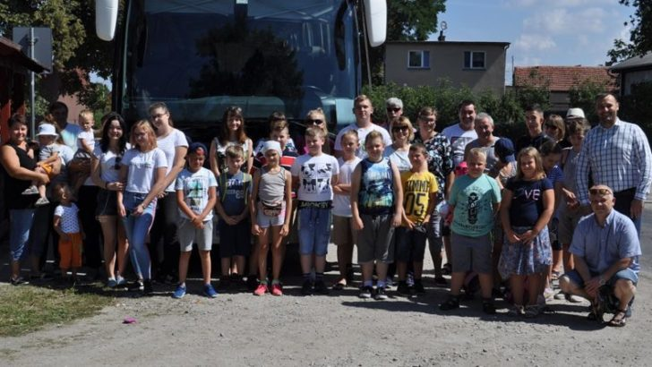 Dzieci pojechały do Nowego Gierałtowa