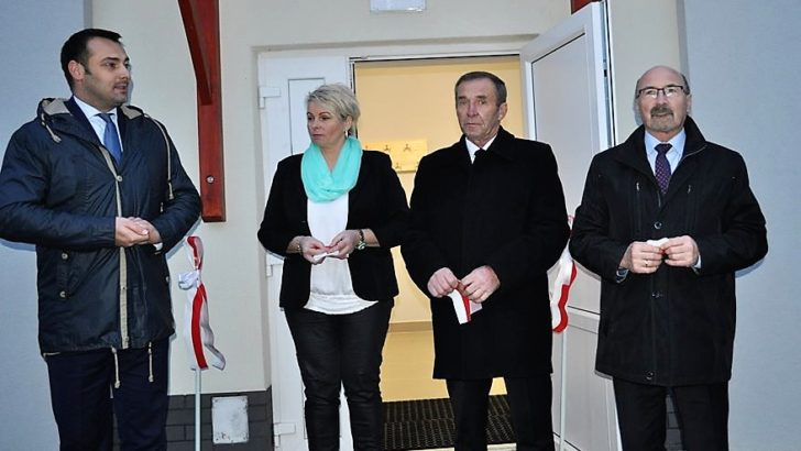 Świetlica w Lasowicach już otwarta