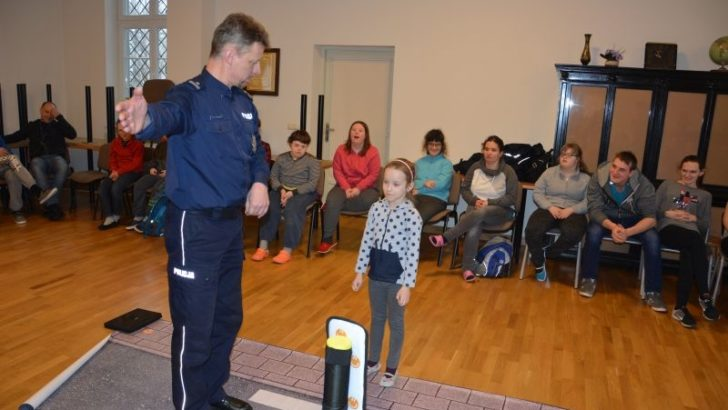Dolnośląska policja, harcerze i niepełnosprawne dzieci
