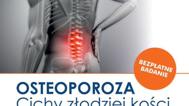 Badają w kierunku osteoporozy i raka prostaty