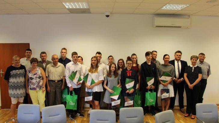 Najzdolniejsi uczniowie i studenci z gminy Lubin