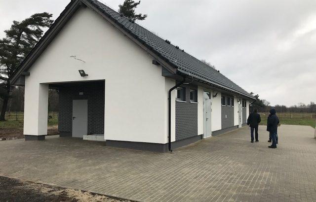 Nowy budynek sportowy w Szklarach Górnych