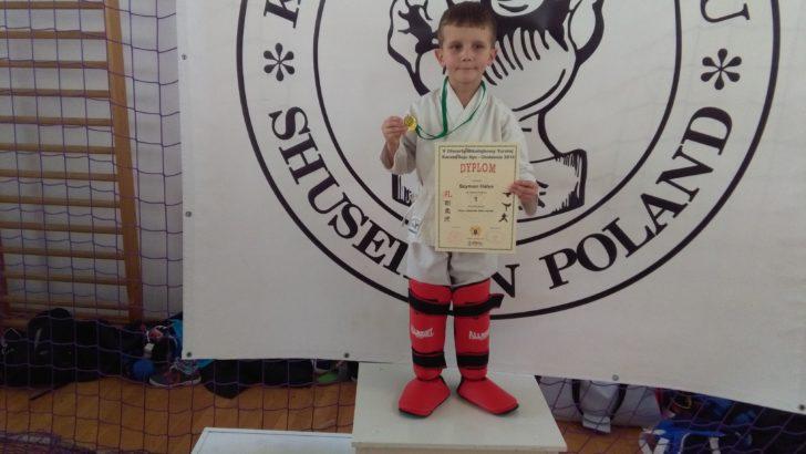 Worek medali Karateków Goju Ryu z ZSI w Lubinie