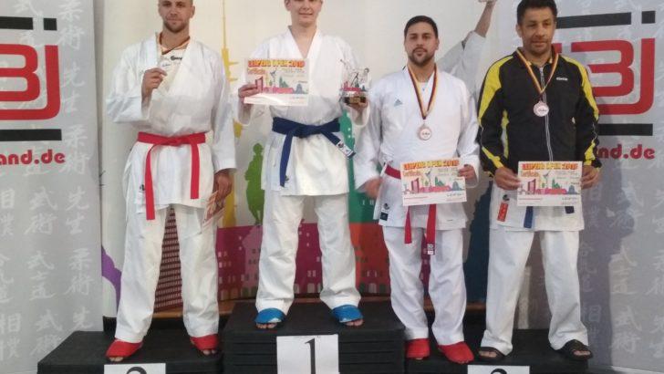 Artur Trubicki na podium niemieckiego turnieju