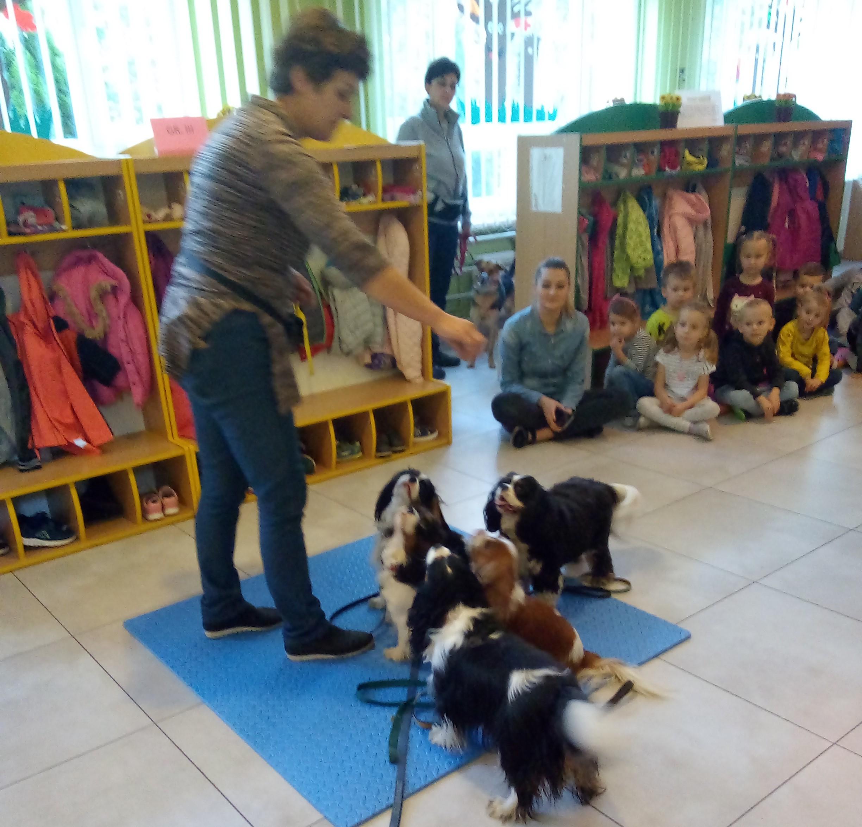Przedszkolaki zostały przyjaciółmi lasu i zwierząt