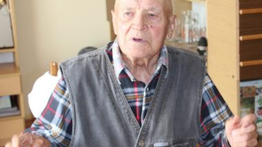 90-latek z Osieka świętuje urodziny
