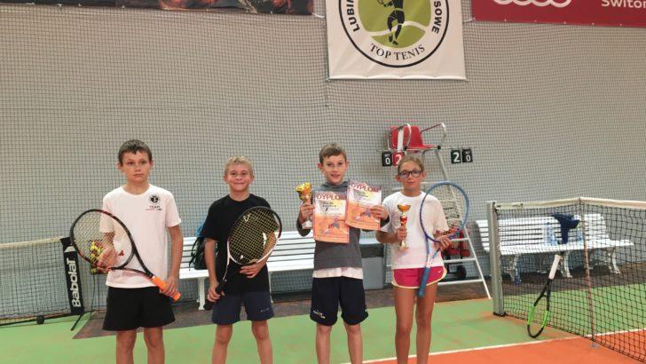 Wyborne starty lubińskich tenisistów
