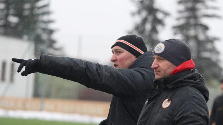 Trener Lewandowski zadowolony z gry defensywy