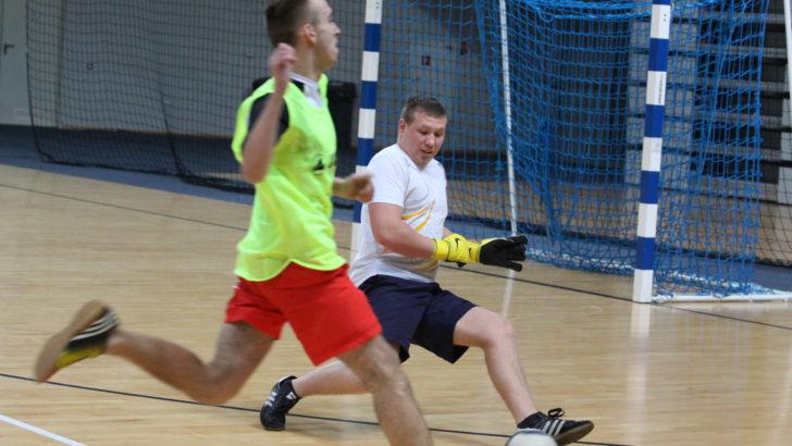 Futsal w hali RCS